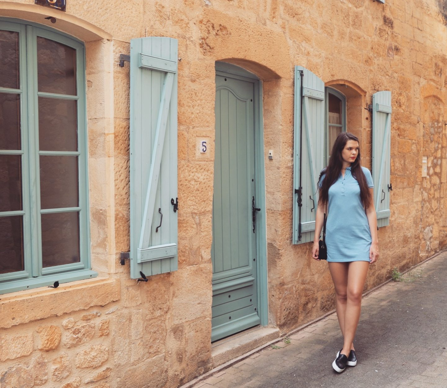 OOTD in Gourdon, France